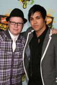 Patrick Stump & Pete Wentz — Stock Photo