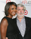 George Lucas, Melanie Hobson — Stock Photo