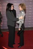 Sherry Lansing, Jane Fonda — Stock Photo