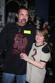 Kane Hodder & Sue Howison — Stock Photo