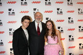 Callan McAuliffe, Rob Reiner, Madeline Carroll — Stock Photo
