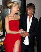 Amber Heard, Bruce Robinson — Stock Photo