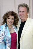 Morgan Brittany & Husband Jack Gill — Stock Photo