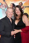 Neal McDonough, wife Ruve — Stock Photo