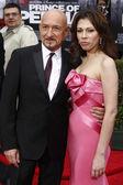 Sir Ben Kingsley and Daniela Lavender — Stock Photo
