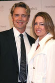 John Schneider & Wife — Stockfoto