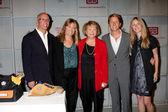 Bill Bell Jr, Lee Phillip Bell, IATSE Exec, Bradley Bell, Lauralee Bell — Stock Photo