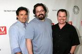John Wirth, Josh Friedman, and James Middleton — Stock Photo