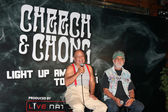 Cheech Marin and Tommy Chong — Stock Photo