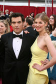 Joe Wright & Rosamund Pike — 图库照片