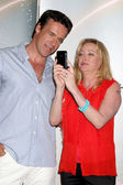 David James Elliott & Virginia Madsen — Foto de Stock