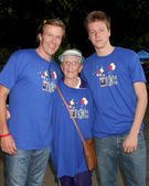 Jack wagner, maman scotty wagner, harrison wagner — Photo