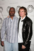 Andre Braugher and Scott Bakula — Stock Photo