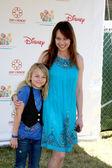 Melinda Clarke & Daughter Kathryn Grace Mirich — Stock Photo