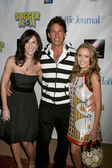 Jennifer Sciole, Dan Cortese, and Emily Osment — Stock Photo