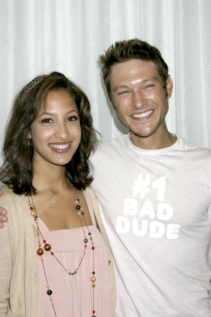 Christel Khalil and michael graziadei