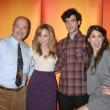 Larry Miller, Meaghan Martin, Ethan Peck, and Lindsey Shaw — Stock Photo #13060461