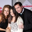 Stock Photo: Kelly Preston, EllBleu Travolta, John Travolta