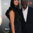 Kimora Lee Simmons and Djimon Hounsou  — Stock Photo