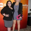 Nikki Blonsky & Hayley Hasselhoff — Stock Photo