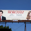 Stock Photo: Have You Heard About Morgan's Billboard