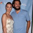 Yvonne Strahovski and Zach Levi  — Stock Photo