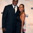 Barry Bonds &amp; Wife - Stock Photo