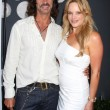Lorenzo Lamas &amp; Christine Marcello - Stock Photo