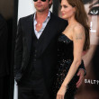 Brad Pitt and Angelina Jolie — Foto Stock