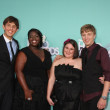 (L-R) 2011 HALO Award honorees Kyle Weiss,  Shanoah Washington, Emily-Anne — Stock Photo
