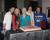 Brandon Beemer, Katherine Kelly Lang, Susan Flannery, Ronn Moss, Winsor Harmon — Stock Photo