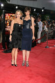 Christine Taylor & Katie Holmes — Stock Photo