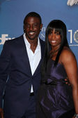 Lance Gross & his sister — Stock Photo