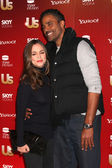 Eliza Dushku & Rick Fox — Stock Photo