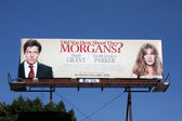 Have You Heard About the Morgan's Billboard — Stock Photo