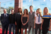 Michael Chiklis, Jeff Probst, Queen Latifah, Audrina Patridge, Zachary Levi — Foto Stock