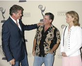 David Hasselhoff, Paul Michael Glaser, and Lindsay Wagner — Stock Photo
