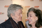 Hal Holbrook & Dixie Carter — Stock Photo