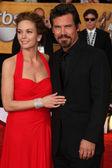 Diane Lane & Josh Brolin — Stock Photo