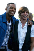 Will Smith, Zac Efron — Stock Photo