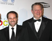 Jeff Skoll & Al Gore — Stock Photo