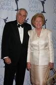 Garry Marshall & Wife — Stockfoto