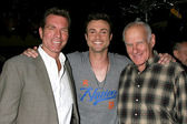 Peter Bergman, Daniel Goddard, Michael Fairman — Stock Photo