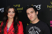 Bebe Rexha, Pete Wentz — Stock Photo