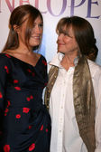 SchuylerFisk & mom Sissy Spacek — Stock Photo