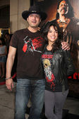 Robert Rodriguez & Michelle Rodriguez — Stock Photo