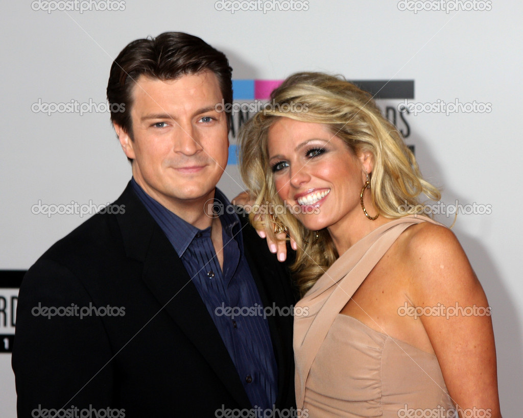 from Aydan nathan fillion girlfriend wife gay