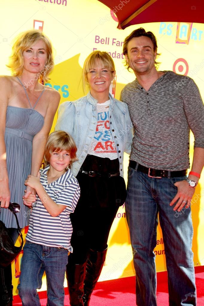 Eileen Davidson & Son Jesse Van Patten, Maria Bell
