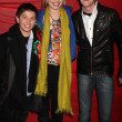 Bradley Steven Perry, Bridgit Mender, Jason Dolley - Stock Photo