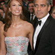 George Clooney, Sarah Larson — Stock Photo